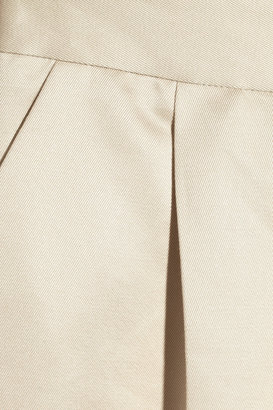 Valentino Cotton and silk-blend twill pants
