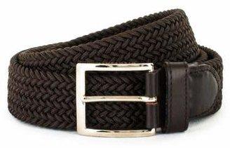 Florsheim Capri Woven Belt - Made in Italy