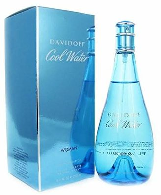 Davidoff Cool Water By For Women Edt Spray 6.7 Oz