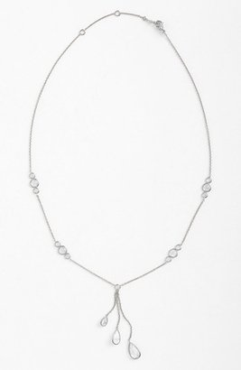 Nadri Cubic Zirconia Triple Drop Y-Necklace (Nordstrom Exclusive)