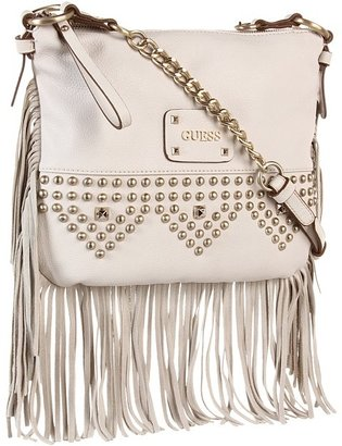 GUESS Pavilla Crossbody Top Zip (Stone) - Bags and Luggage