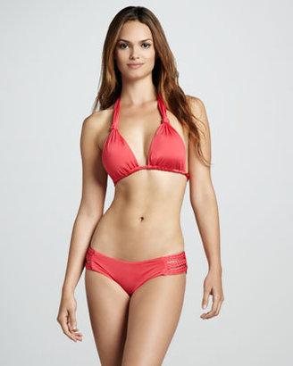 Vitamin A Chloe Braided Halter Swim Top