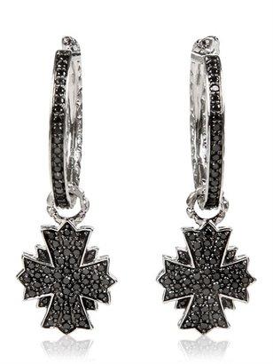 Hellmuth Cross Earrings
