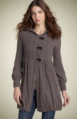 Free People 'Princess' Cable Sweater Coat
