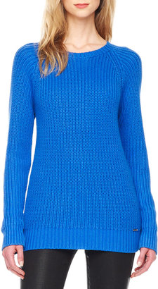 Michael Kors Long-Sleeve Knit Sweater
