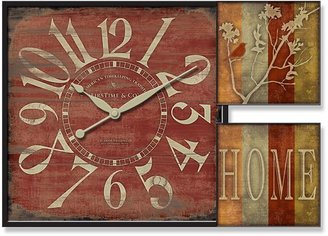 Firstime home gallery wall clock