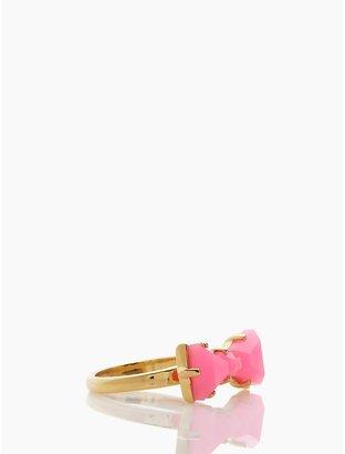 Kate Spade Black tie optional mini ring