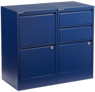 Bisley Oxford Blue File Cabinets
