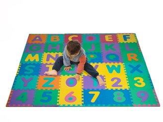 Unbranded Foam Floor Alphabet & Number 36-pc. Puzzle Mat