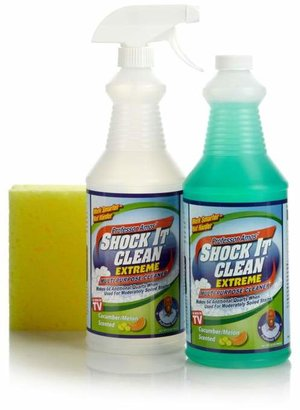 Professor Amos Shock It Clean Extreme Concentrate 32 oz. Kit - Clean & Fresh Scent