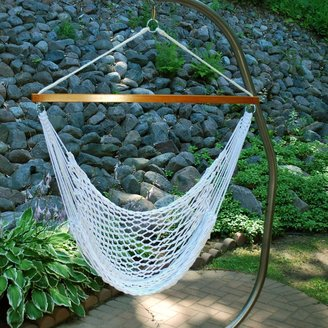 Algoma Hanging Rope Chair - Outdoor