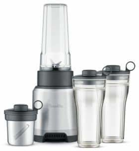 Breville The Boss to Go Personal Blender and Grinder BPB625BAL