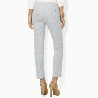 Ralph Lauren Pinstriped Ankle Pant