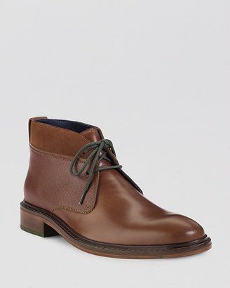 Cole Haan Colton Winterized Leather Chukka Boots