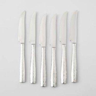 Bloomingdale's Ricci Argentieri Anvil 6-Piece Steak Knife Set