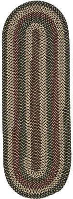 Colonial Mills Brook Farm Reversible Braided Indoor/Outdoor Oval Runner Rug