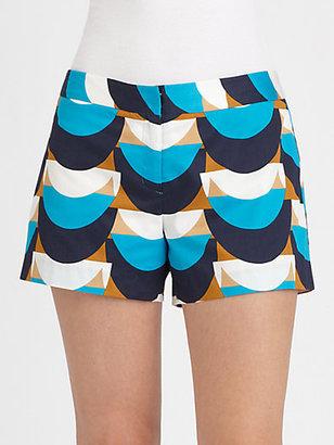 Milly Dickies Printed Shorts