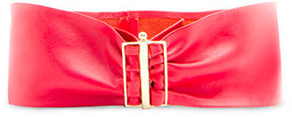 MANGO TOUCH - Leather waist belt