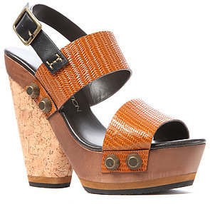 Blonde Ambition The Nubia Shoe in Tan