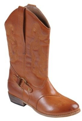 Hailey Jeans Co. Womens' Topstitched Pull-on Cowboy Boots