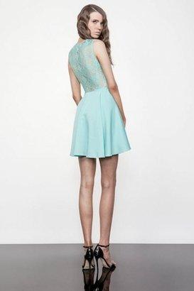 Keepsake Need Your Love Lace Dress in Mint