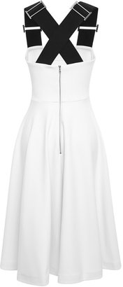 Josh Goot Monochrome Daily Fit And Flare Dress