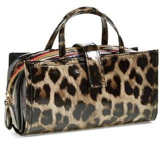 Nordstrom steph&co 'Shiny Leopard' Brush Case Exclusive)