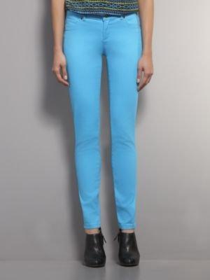 New York & Co. Colored Stretch Jean Legging