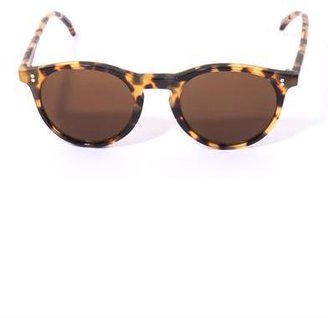 Oliver Spencer Sid round-frame sunglasses