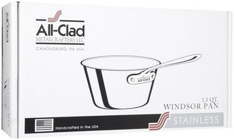 All-Clad Stainless Steel Windsor Saucepan, 1.5 qt