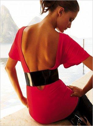 Victoria's Secret Belted open-back top