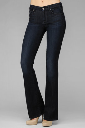 7 For All Mankind Kimmie Curvy Bootcut In Midnight Canyon