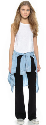 So Low SOLOW Jersey Fold Over Pants