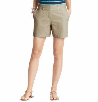"LOFT Cotton Shorts with 6"" Inseam"