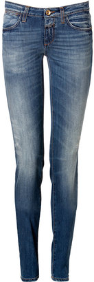 Closed Skinny Jeans in Mid Blue Vintage