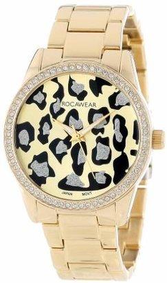 Rocawear Women's RL0110G1-046 Stylish Bracelet Enamel Bezel Watch $48.96 thestylecure.com