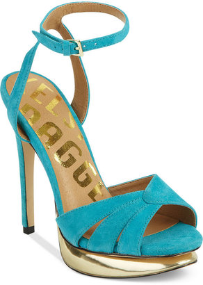 Kelsi Dagger Shoes, Cha Cha Platform Evening Sandals