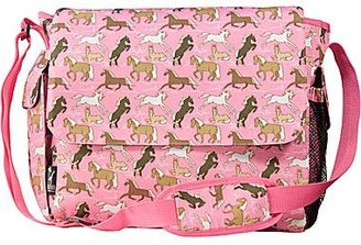 JCPenney Wildkin Horses in Pink Diaper Bag