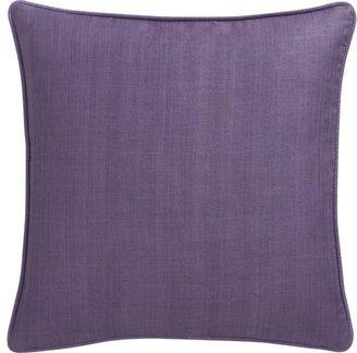 "Crate & Barrel Hayward Lavender 18"" Pillow"