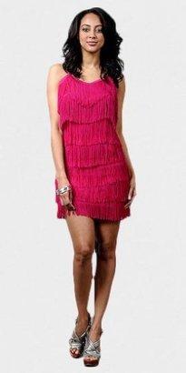 eDressMe Fuchsia Flapper Dresses