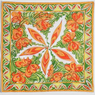 Pucci Amarcord Vintage Fashion Flower Scarf
