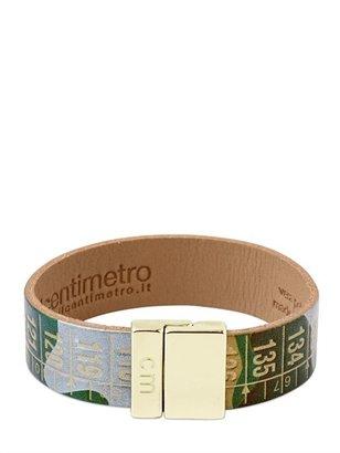 Camouflage Leather Centimeter Bracelet