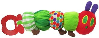 Kids Preferred Eric Carle Caterpillar Teether Rattle