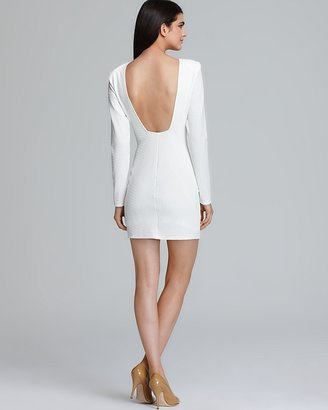 Backstage Dress - Caroline Strong Shoulder