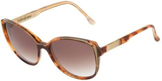 Yves Saint Laurent Pre-Owned Tortoise Shell Sunglasses