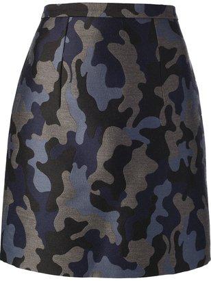 Christopher Kane camouflage skirt