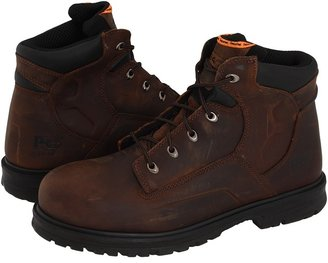 Timberland Magnus 6 Steel Toe (Brown Oiled Nubuck Leather) - Footwear