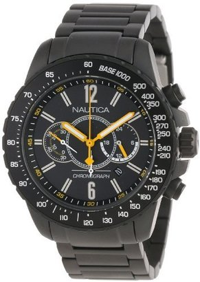 Nautica Unisex N26537G NST 15 Chrono Date Watch $250 thestylecure.com