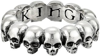 King Baby Studio - Skull Infinity Ring Ring $170 thestylecure.com