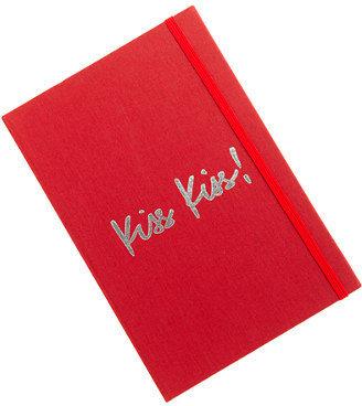 J.Crew Inscribed canvas notebook